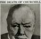 Churchill's death in 1965 was front page news all over the world.