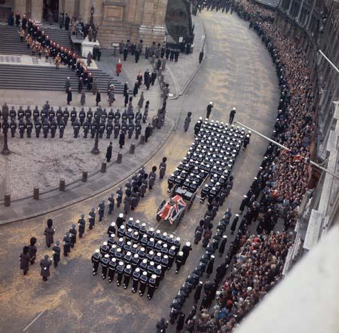 Winston Churchill Funeral