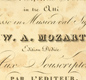 The title page of the score for Mozart's opera Idomeneo.