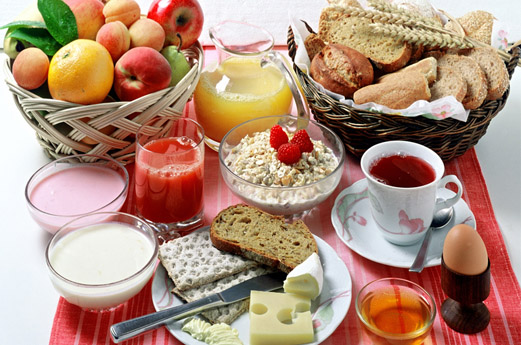 food drink breakfast spanish