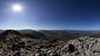 View from the top of Stob Dearg.