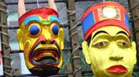 Traditional Chinese masks
