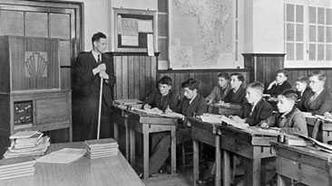 Old Fashioned Teaching Methods To Technology In Scotland