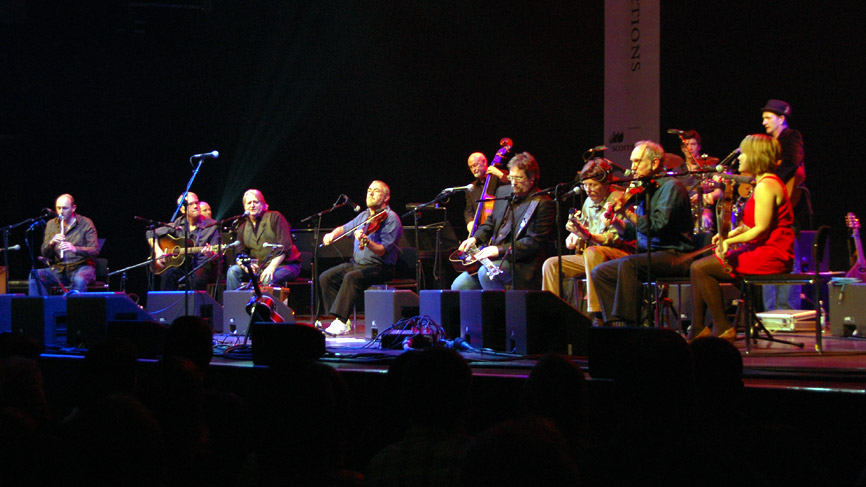 Transatlantic Sessions at Glasgow Royal Concert Hall. Photo by Julie Broadfoot.