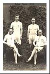 Eric Liddell in the Edinburgh Uni relay team