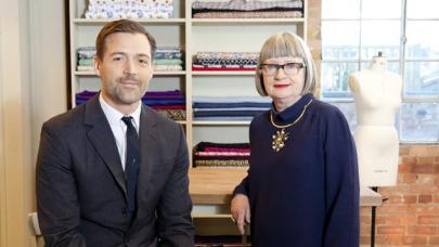 Patrick Grant and Esme Young