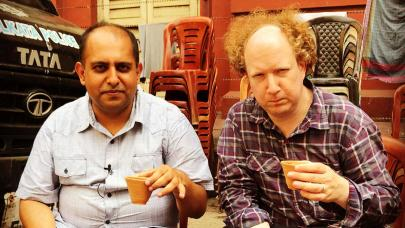 Anuvab Pal and Andy Zaltzman