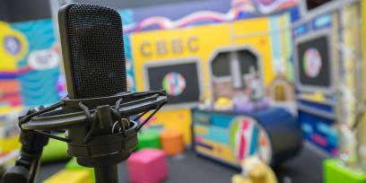CBBC Interactive Tour microphone