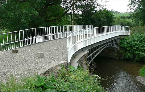 Cantlop Bridge is a scheduled monument these days