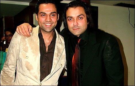 Abhay and Bobby Deol