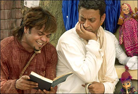 Irrfan Khan and Rajpal Yadav