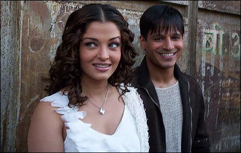 Aishwarya Rai & Vivek Oberoi