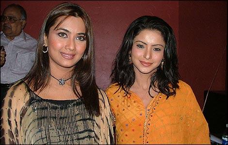 Nausheen Ali Sardar and Amna