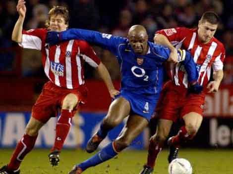 Patrick Vieira Senegalese football midfielder