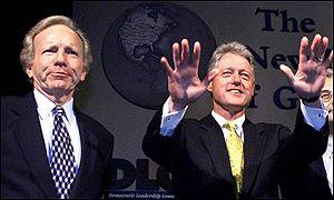 Lieberman va ser candidat a la vicepresidència dels EUA amb Al Gore l'any 2000