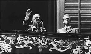 Franco y Juan carlos