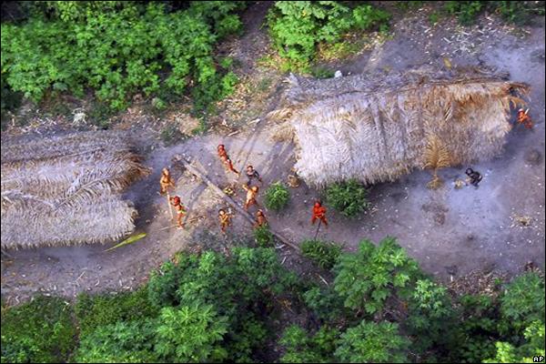 tribus aisladas