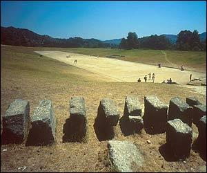 Antzinako Olinpiako estadioa