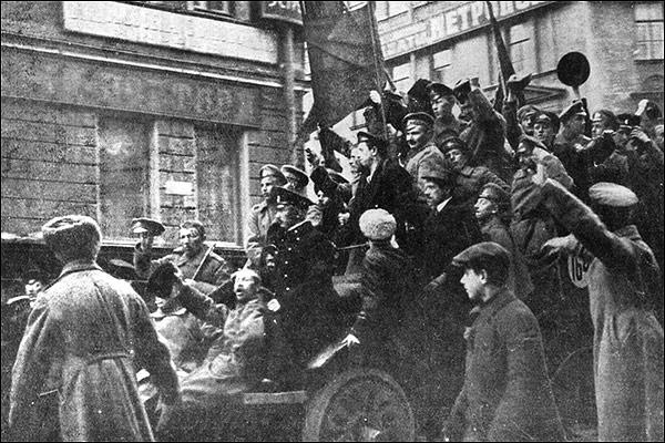 La revolución rusa en imágenes y explicadas