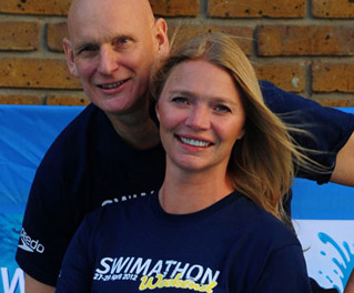 Duncan Goodhew and Jodie Kidd