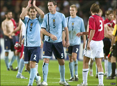 Scotland won 2-1 in Oslo the last time they faced Norway, in 2005