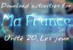 Download Ma France Unit 20 suggested activities