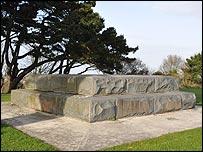Saumarez memorial base