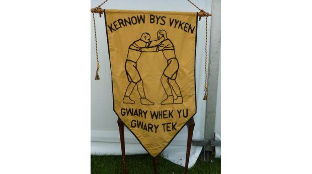 Cornish Wrestling Association Banner