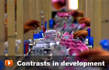Watch 'Contrasts in development' video