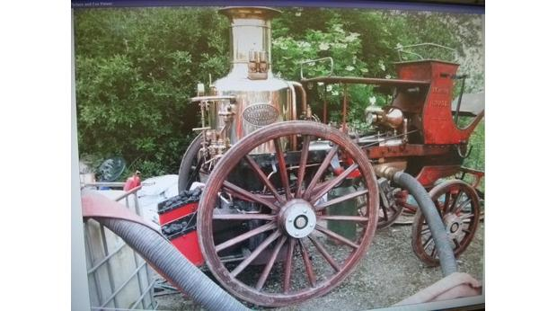 Merryweather Steam Fire Engine