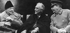 a comparison between the yalta and potsdam conferences Essays related to yalta potsdam 1 origins of the cold war clashes between stalin and the west first appear at the yalta and potsdam conferences in february and july 1946, respectively though the mood at yalta was more or less cooperative.