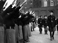 Oswald Mosley and his Blackshirts