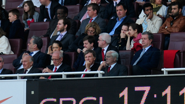 Stan Kroenke agreed a deal to purchase Arsenal in April. Photo: Getty