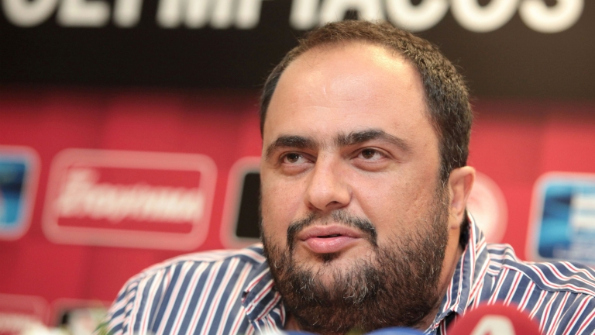 Olympiakos Piraeus president Vangelis Marinakis has been named as a suspect in the match-fixing scandal. Photo: Reuters