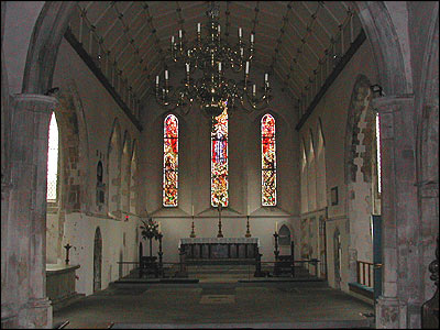 The chancel of All Saints, Lydd