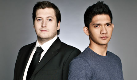 Gareth Evans and Iko Uwais