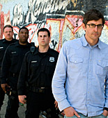 Louis Theroux experiences front line policing American-style with Philadelphia's Police Department