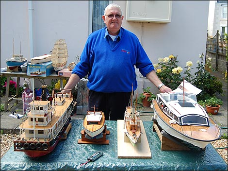 BBC - Guernsey - People - Model boat building