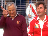 Peter Taylor and Brian Clough