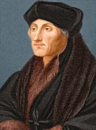 Portrait of Erasmus Desiderius, 1523