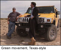 Green movement, Texas-style