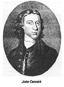 John Cennick, one of the founder members of the Moravian Church in Ireland