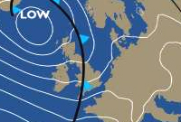 BBC weather chart