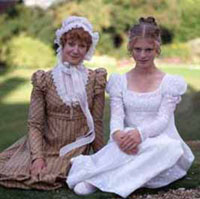 bbc gcse bitesize late th century early th century fashion muslin day dresses