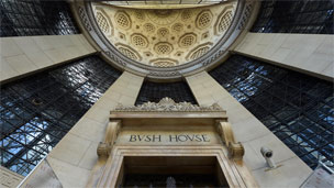 Bush House entrance