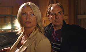 Amanda Redman and Alun Armstrong in New Tricks