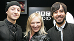 Jo Whiley with Linkin Park