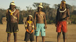 Younger members of the Kayapo tribe