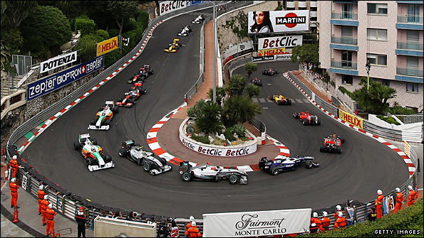 The Monaco Grand Prix has arguably the most distinctive setting of any Formula One race