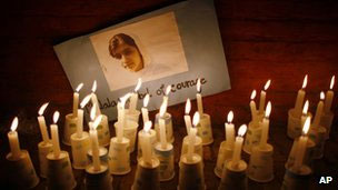 Candlelight vigil for Malala Yousafzai